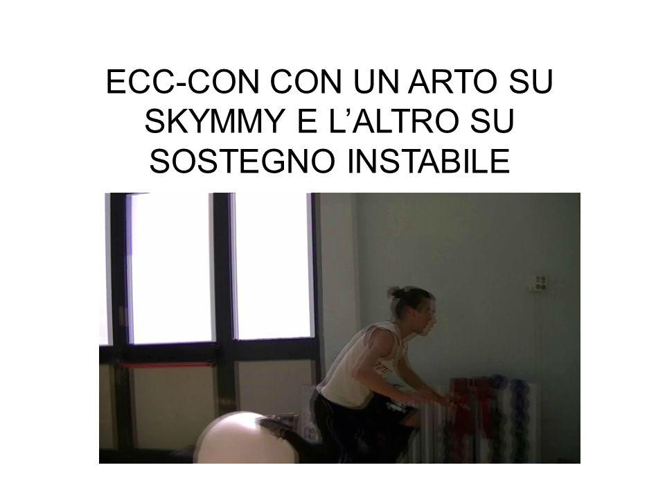 ECC-CON CON UN ARTO SU SKYMMY E L'ALTRO SU SOSTEGNO INSTABILE