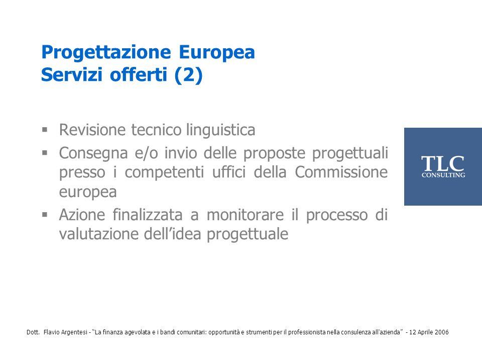 Progettazione Europea Servizi offerti (2)