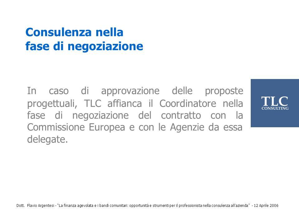 Consulenza nella fase di negoziazione