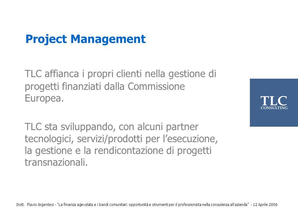 Project Management TLC affianca i propri clienti nella gestione di progetti finanziati dalla Commissione Europea.