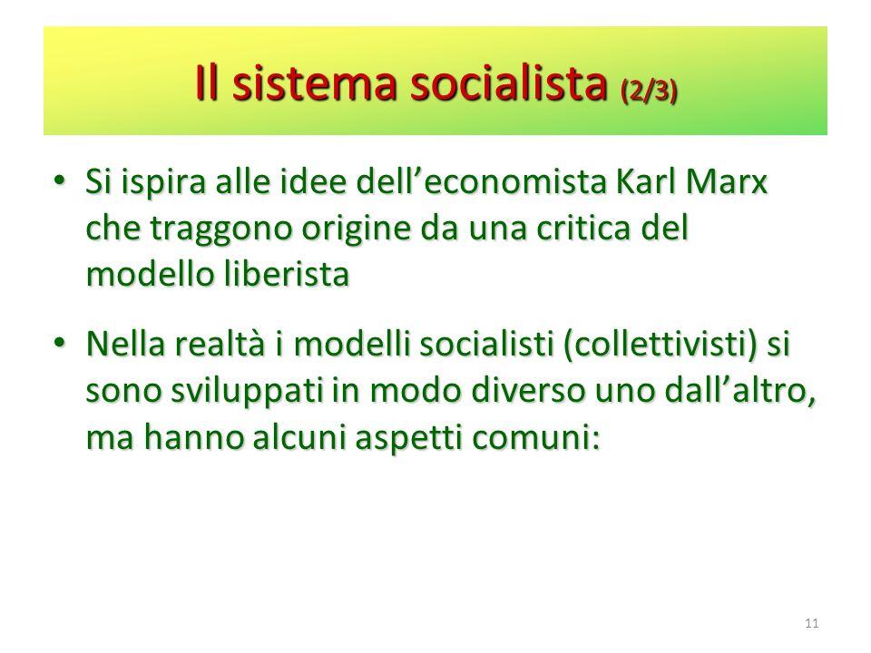Il sistema socialista (2/3)