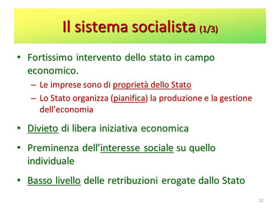 Il sistema socialista (1/3)