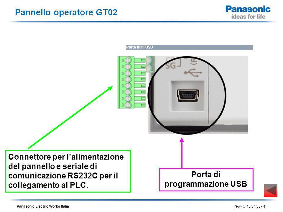 Porta di programmazione USB