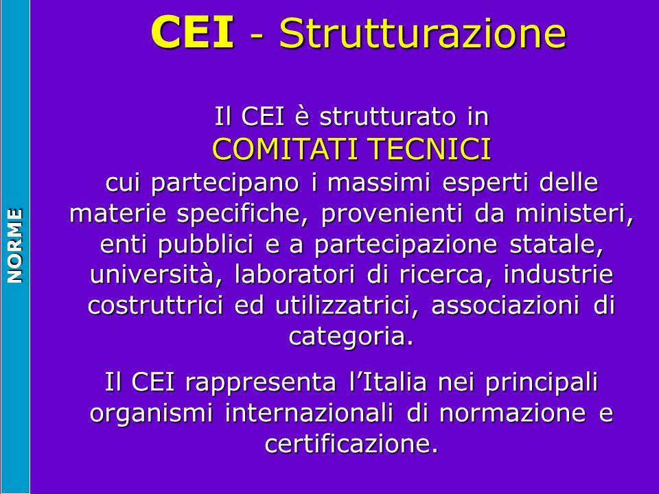 CEI - Strutturazione