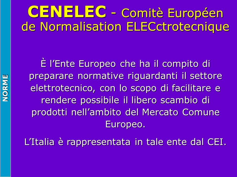 CENELEC - Comitè Européen de Normalisation ELECctrotecnique