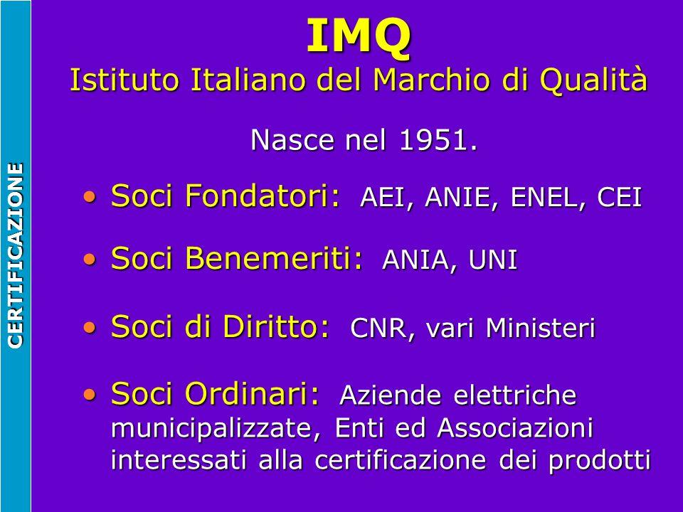 IMQ Istituto Italiano del Marchio di Qualità