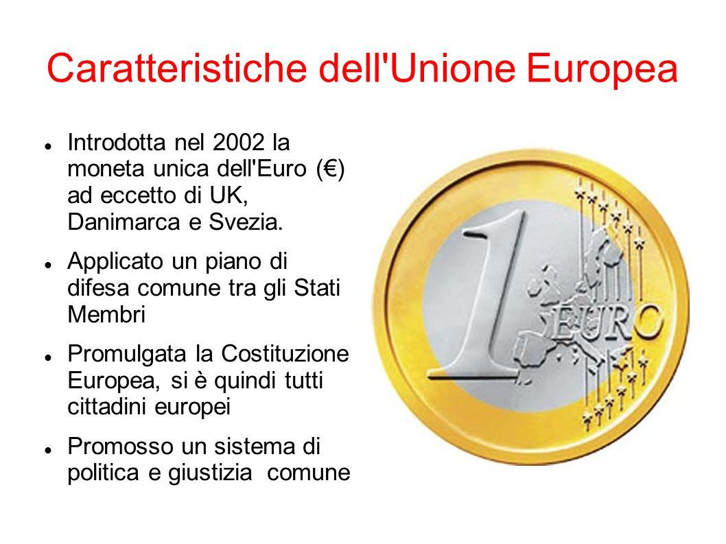 Caratteristiche dell Unione Europea
