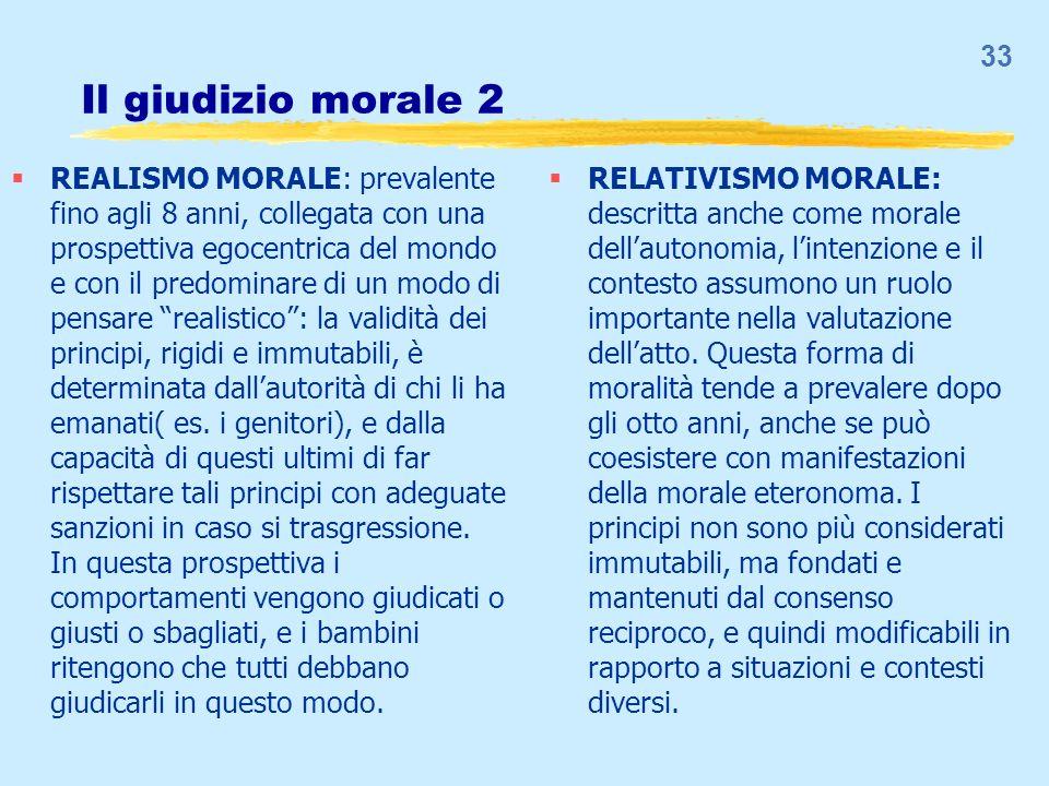Il giudizio morale 3