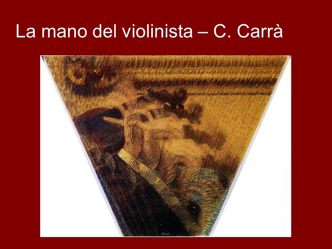 La mano del violinista – C. Carrà