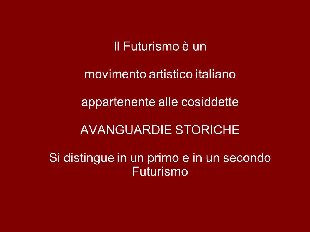 movimento artistico italiano appartenente alle cosiddette