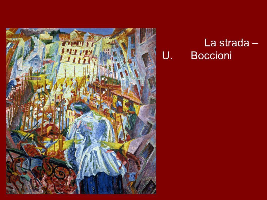 La strada – U. Boccioni
