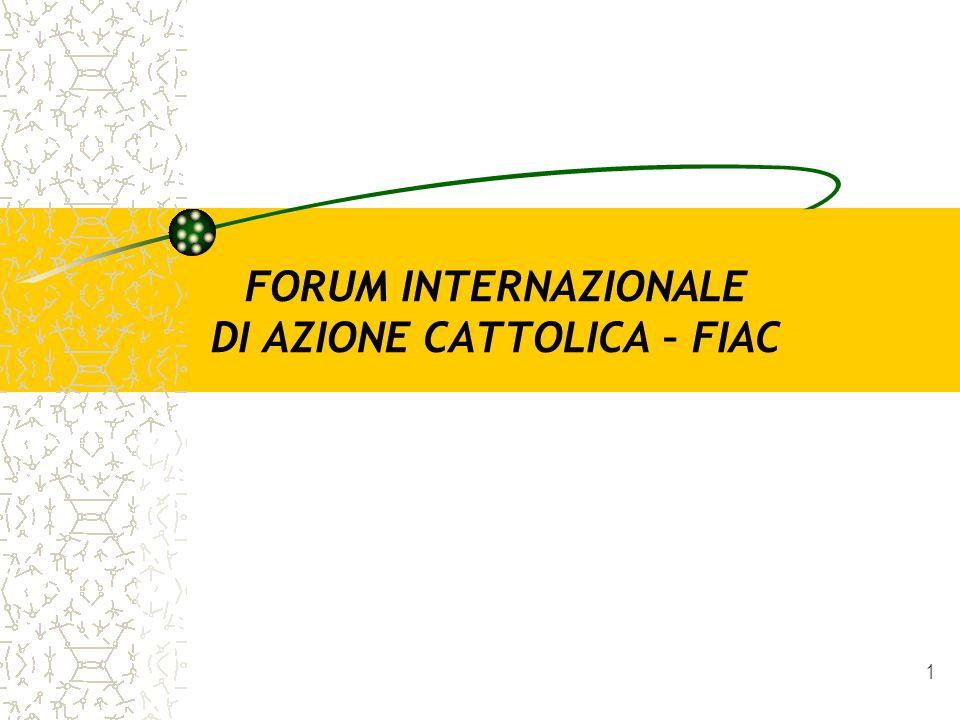 FORUM INTERNAZIONALE DI AZIONE CATTOLICA – FIAC