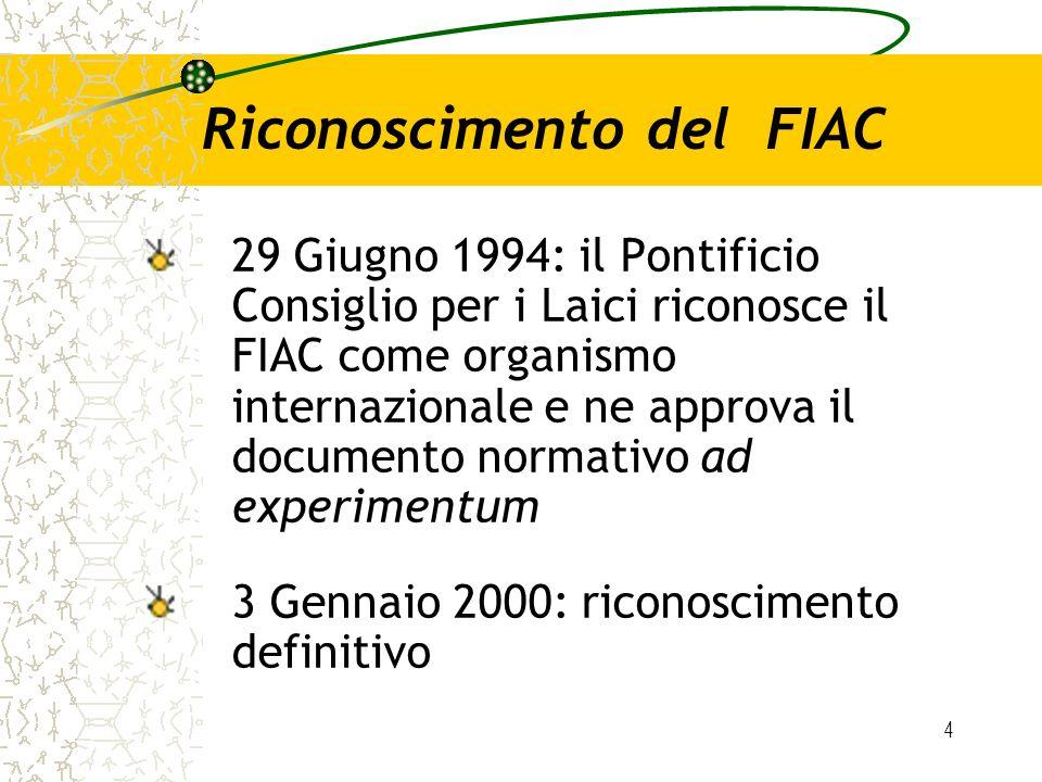 Riconoscimento del FIAC