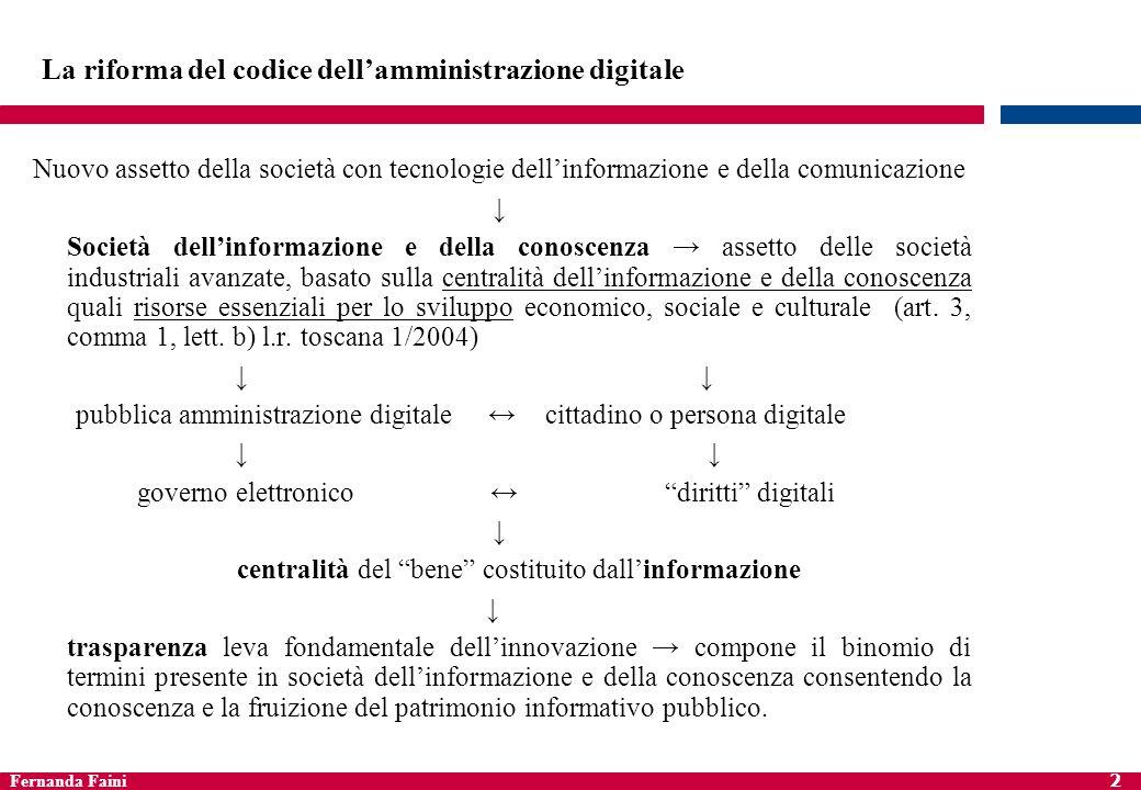 La riforma del codice dell'amministrazione digitale