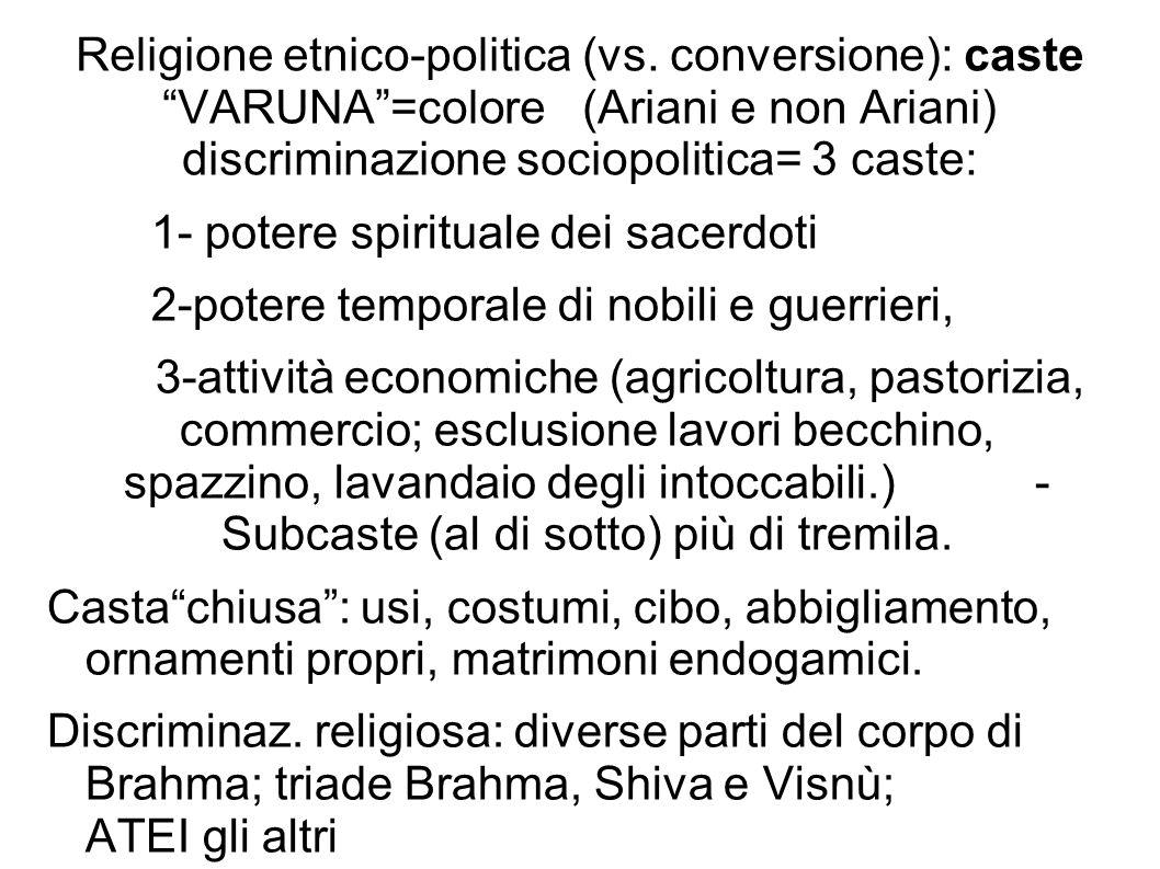 Religione etnico-politica (vs