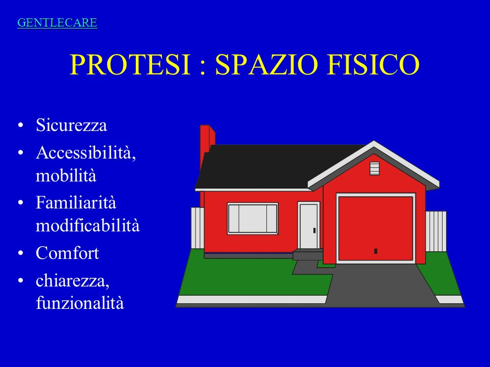 PROTESI : SPAZIO FISICO