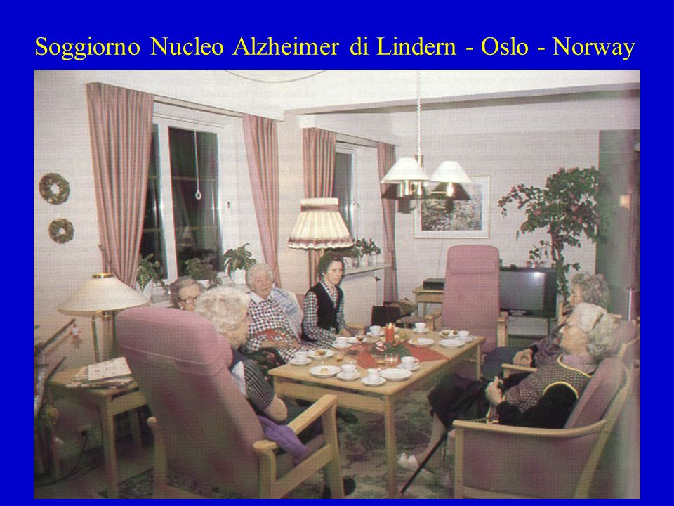Soggiorno Nucleo Alzheimer di Lindern - Oslo - Norway