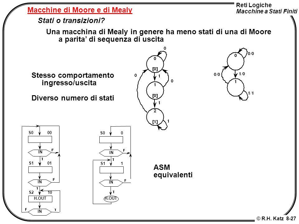 Macchine di Moore e di Mealy