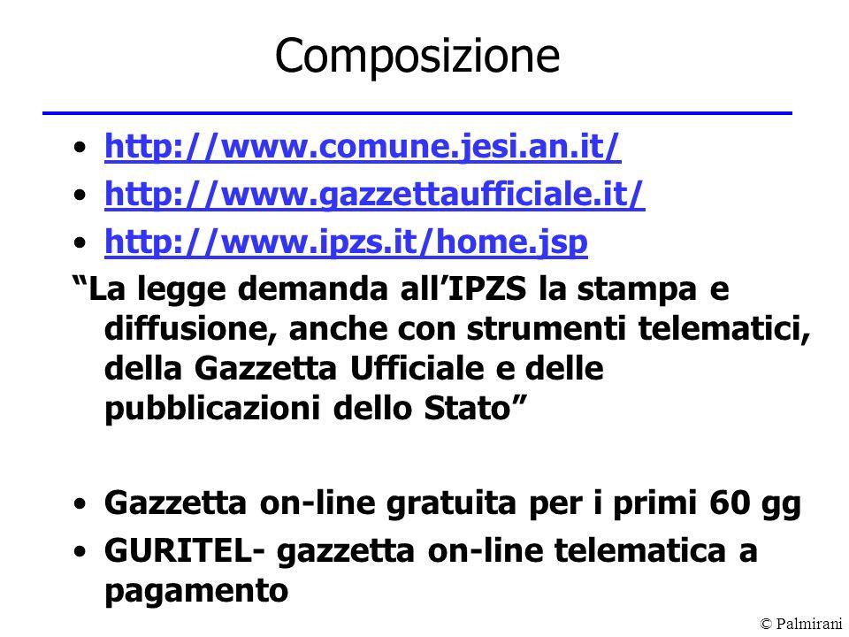 Composizione http://www.comune.jesi.an.it/
