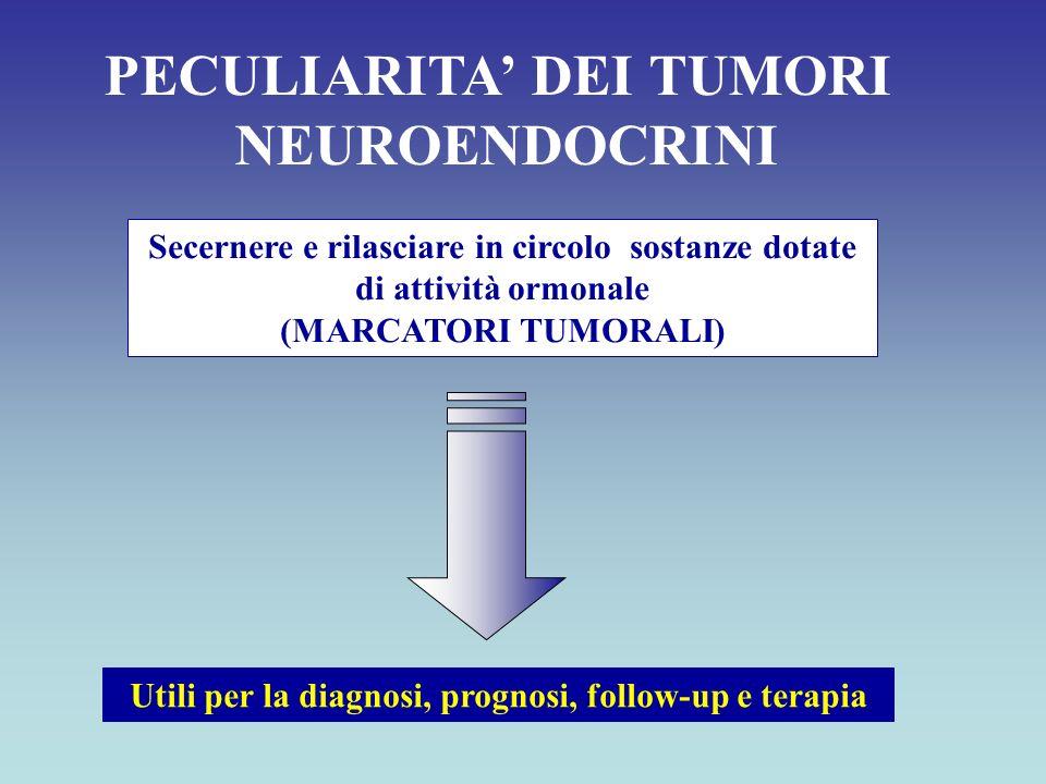 PECULIARITA' DEI TUMORI NEUROENDOCRINI