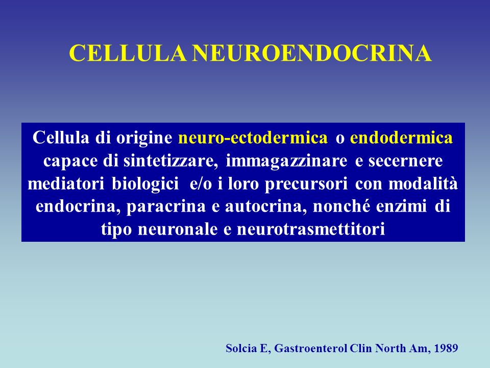 CELLULA NEUROENDOCRINA