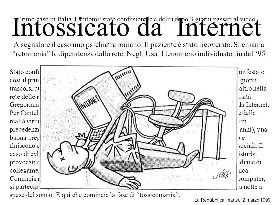 Intossicato da Internet