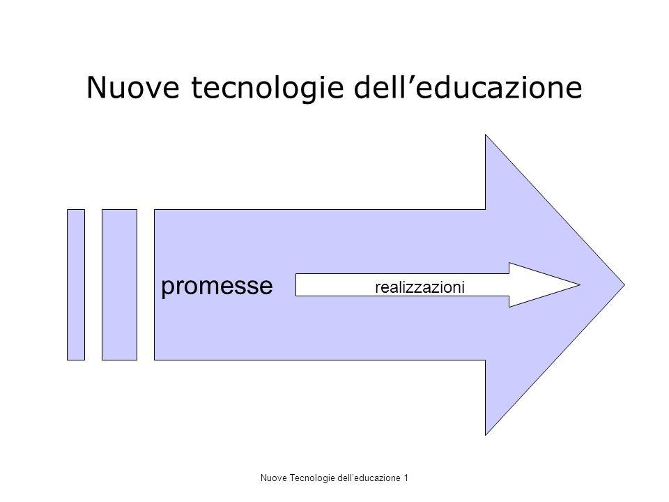 Nuove tecnologie dell'educazione