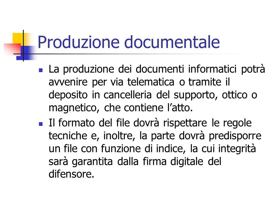 Produzione documentale