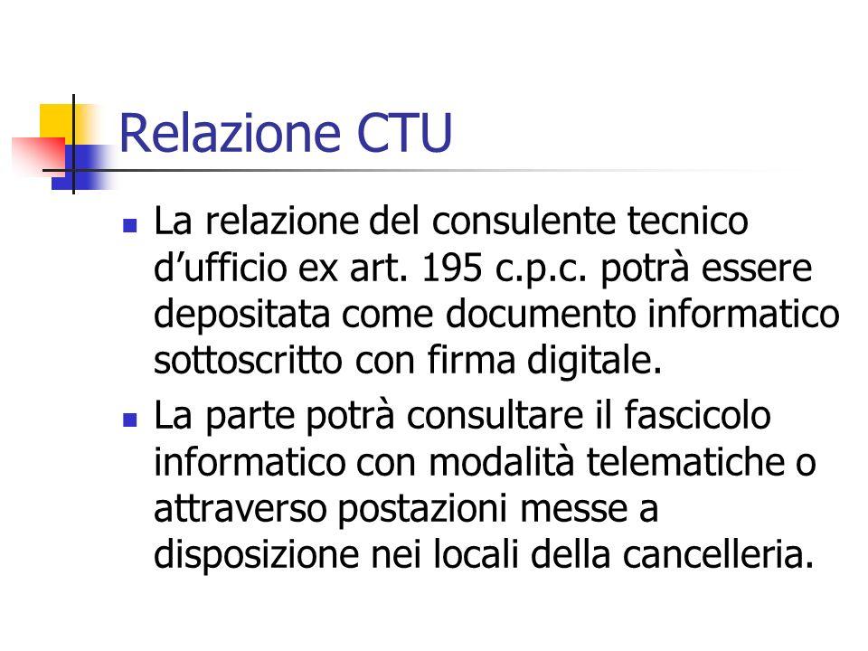 Relazione CTU