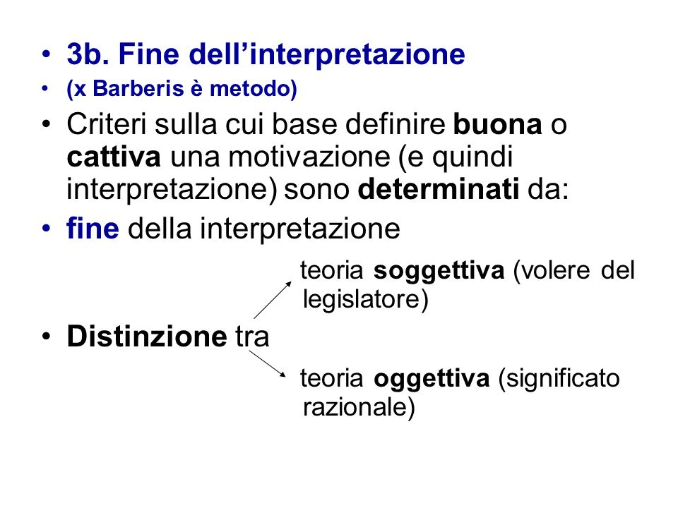 3b. Fine dell'interpretazione