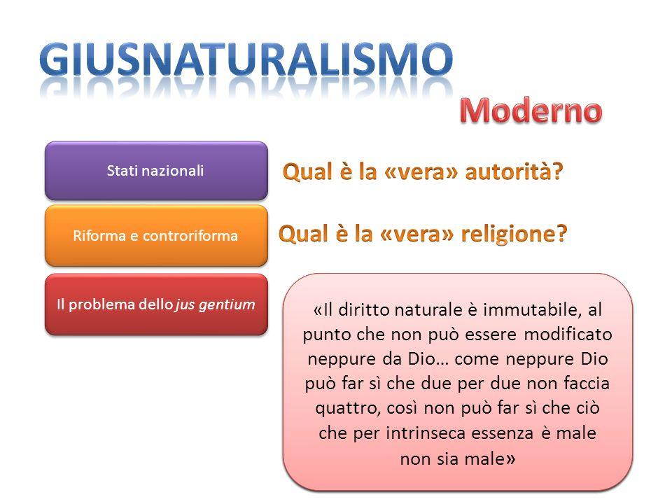 Qual è la «vera» autorità Qual è la «vera» religione