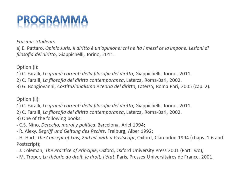 programma Erasmus Students