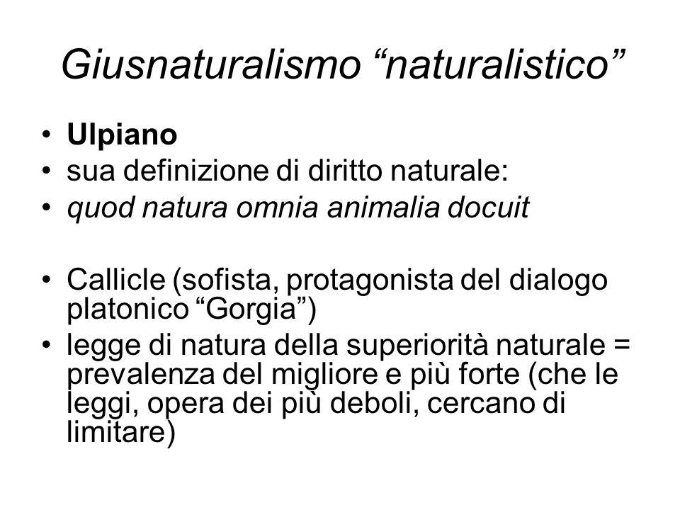 Giusnaturalismo naturalistico