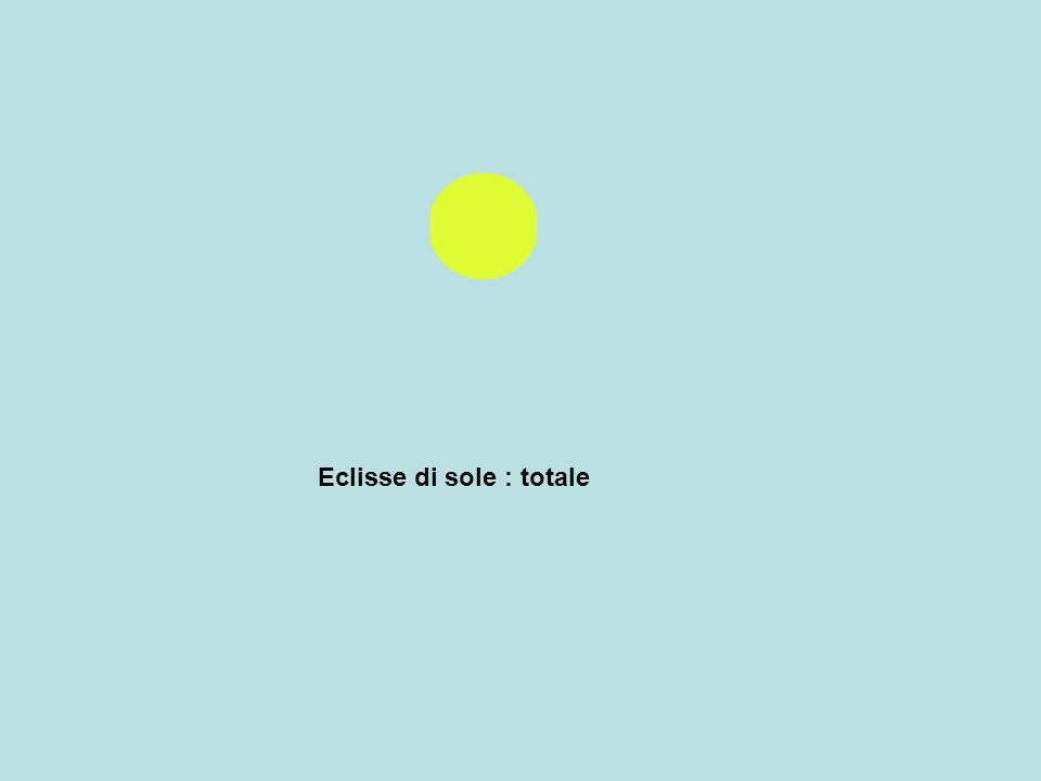 Eclisse di sole : totale