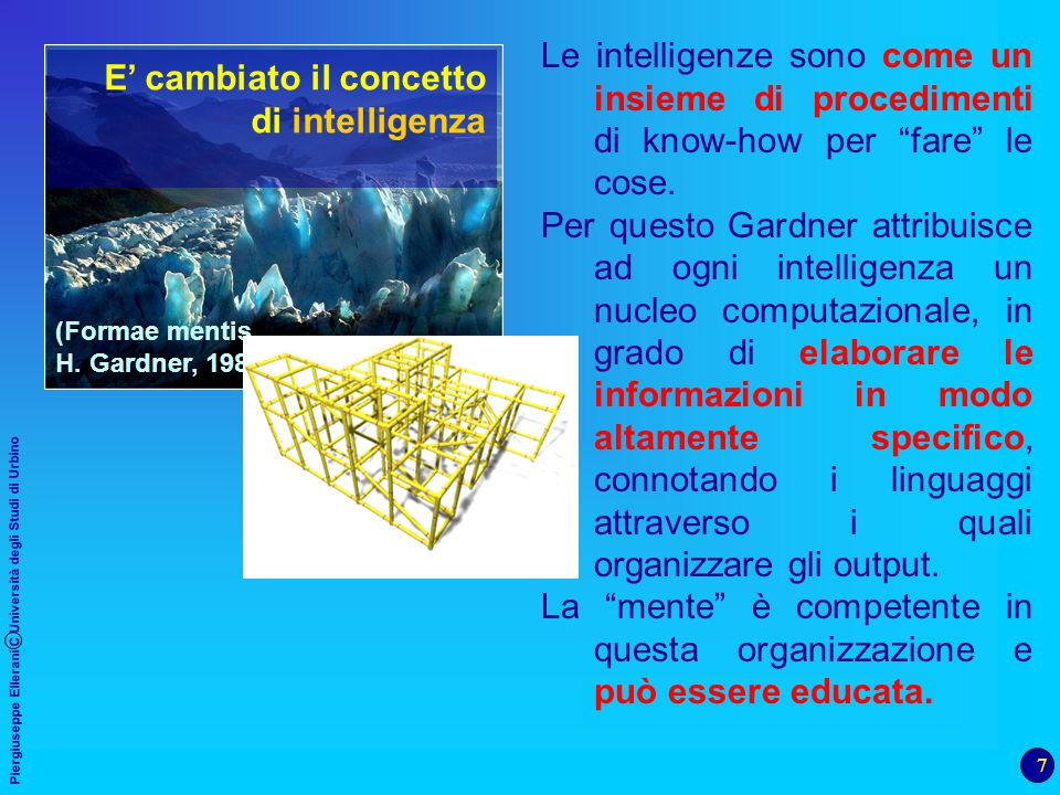 La mente è competente in questa organizzazione e può essere educata.