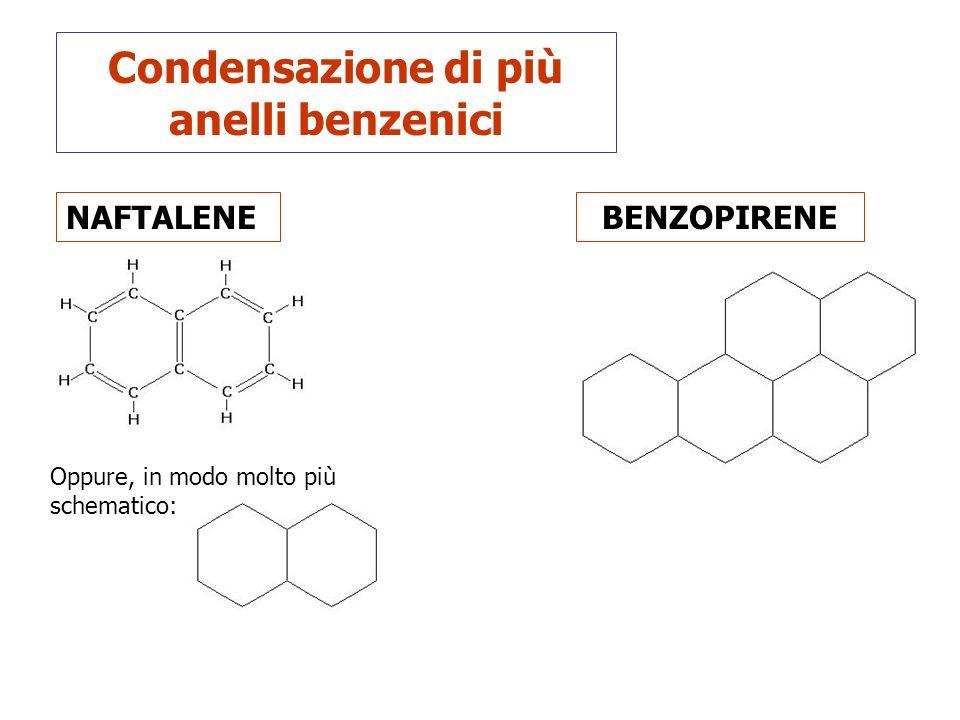 Condensazione di più anelli benzenici
