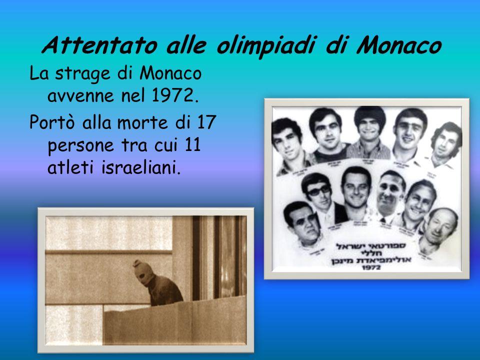 Attentato alle olimpiadi di Monaco