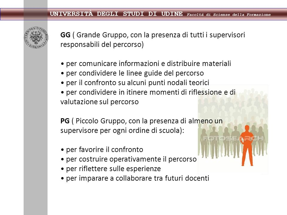 • per comunicare informazioni e distribuire materiali