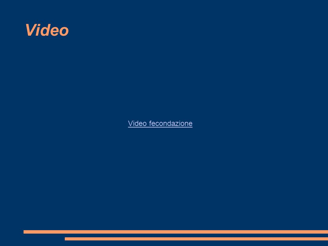 Video Video fecondazione