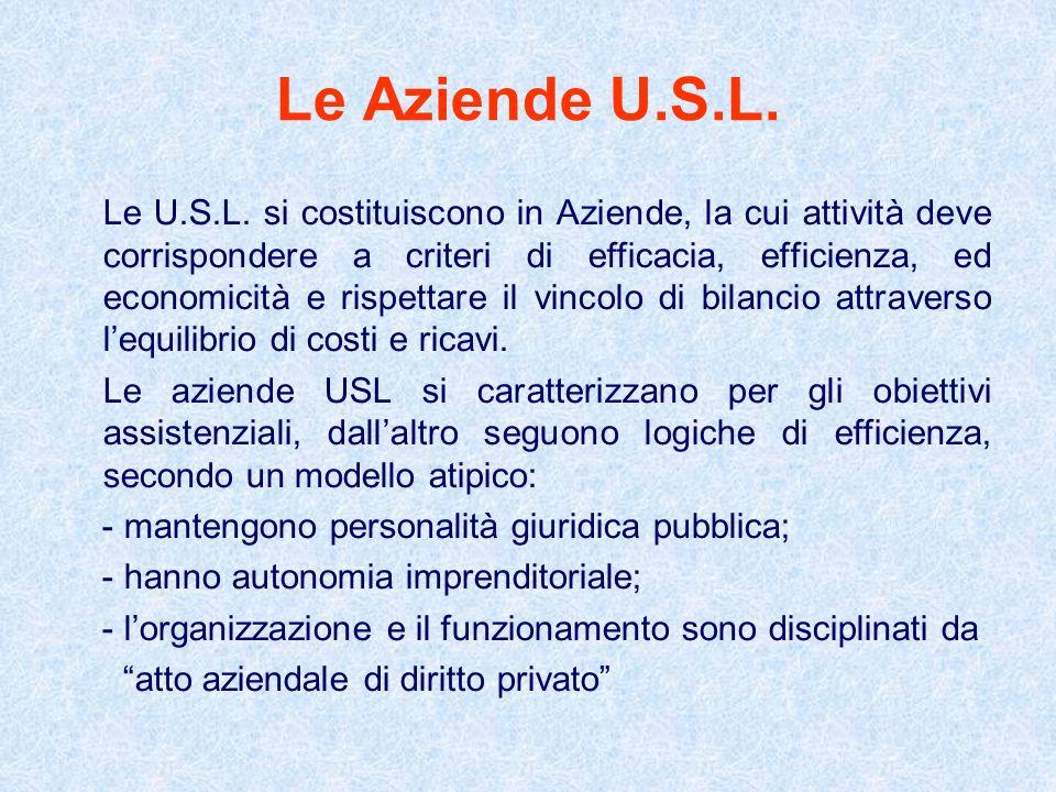 Le Aziende U.S.L.