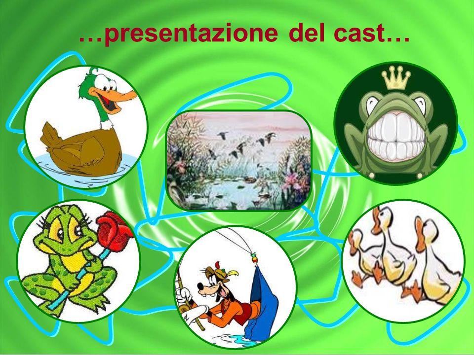 …presentazione del cast…