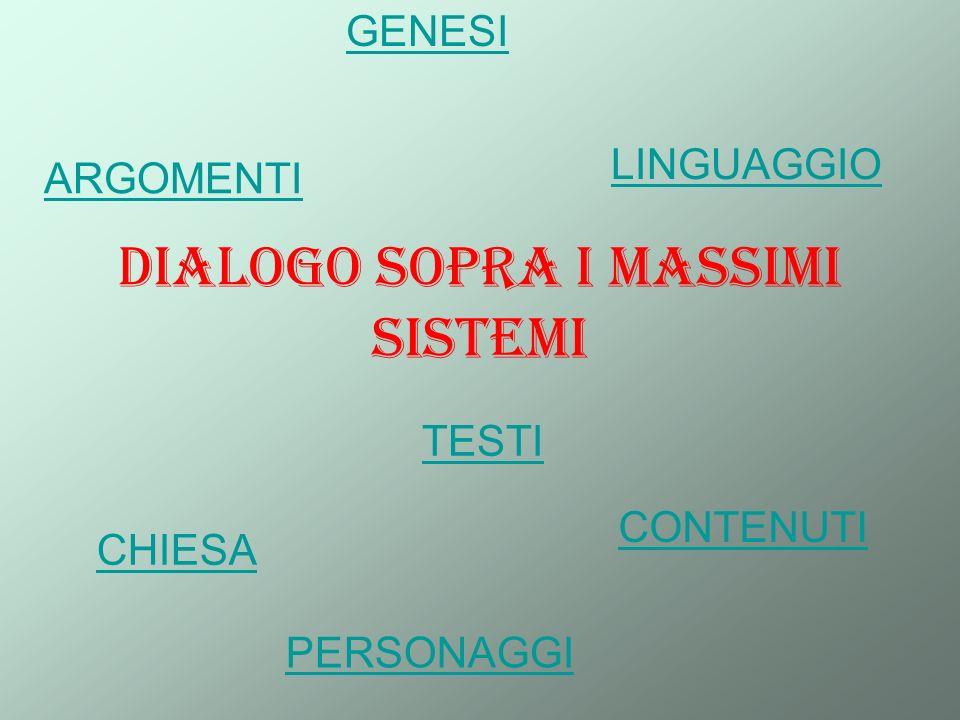 Dialogo sopra i massimi sistemi