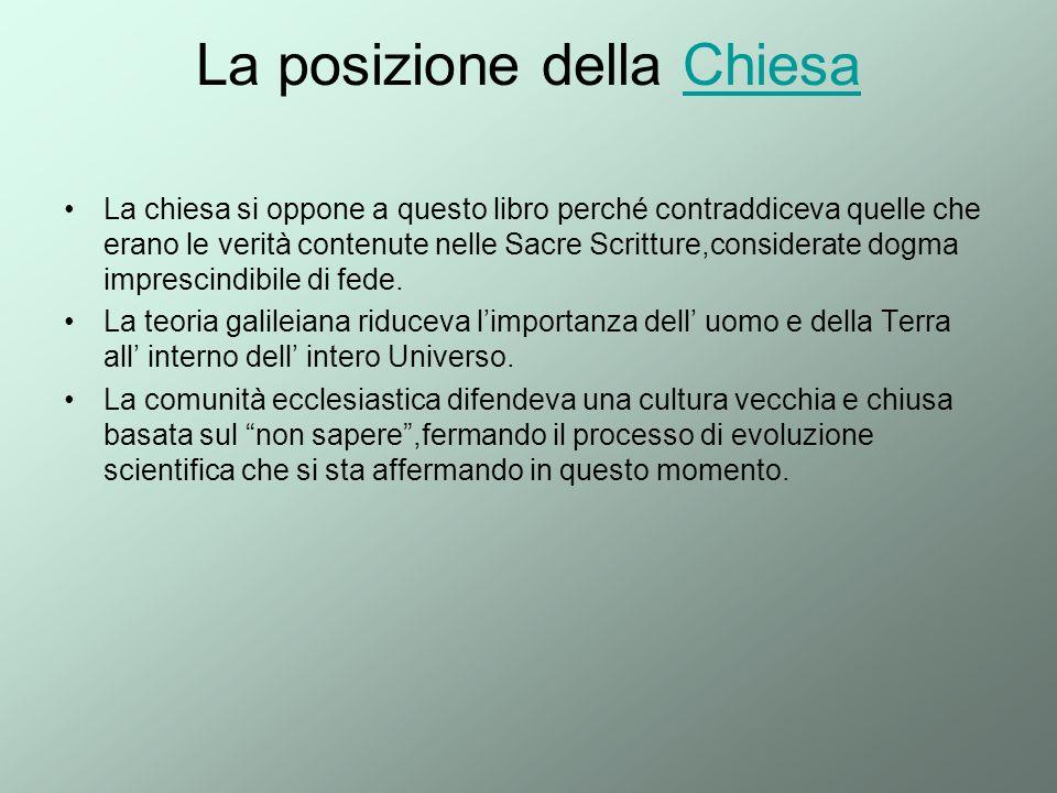 La posizione della Chiesa