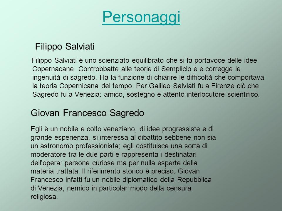 Personaggi Filippo Salviati Giovan Francesco Sagredo