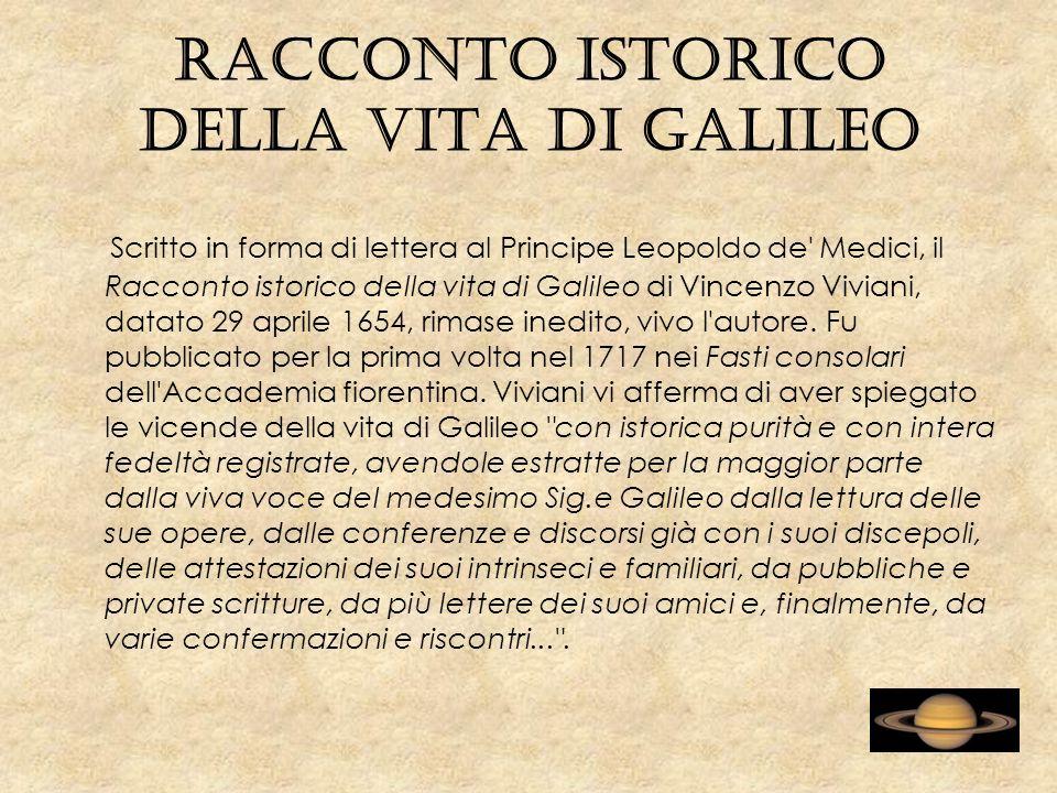 Racconto istorico della vita di Galileo
