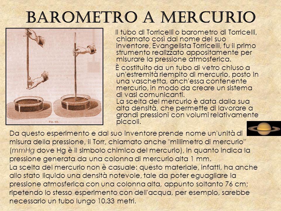 Barometro a mercurio