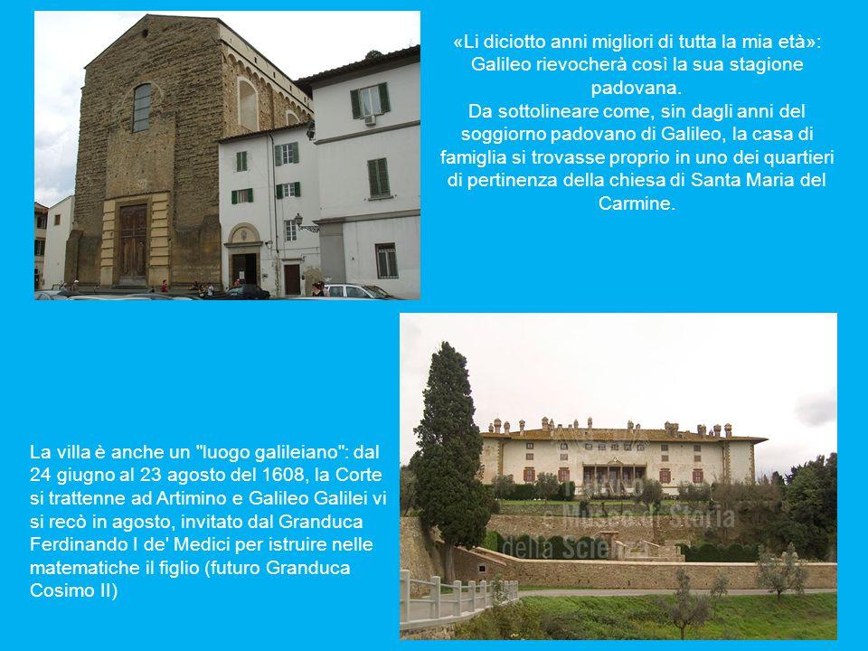 «Li diciotto anni migliori di tutta la mia età»: Galileo rievocherà così la sua stagione padovana.