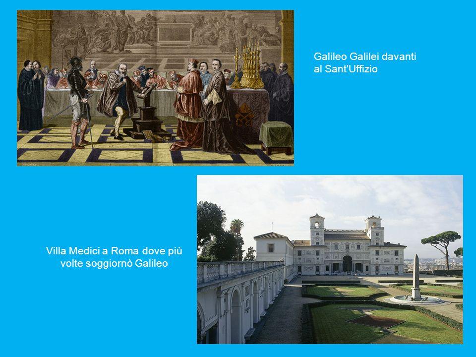 Galileo Galilei davanti al Sant Uffizio