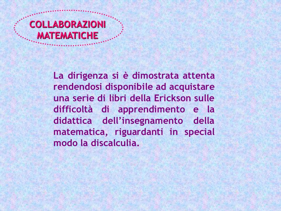 COLLABORAZIONI MATEMATICHE