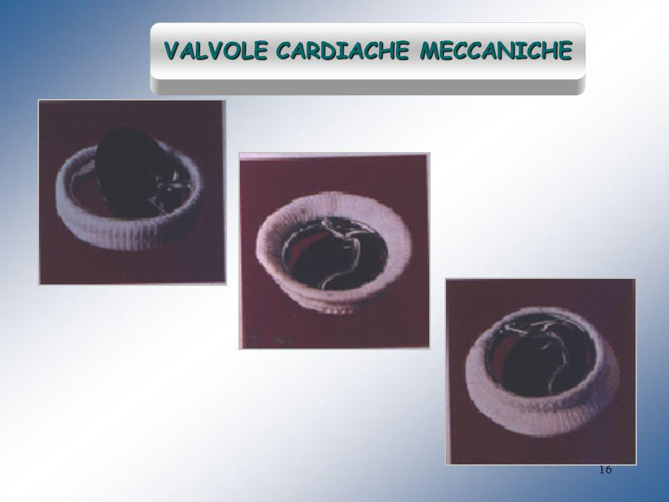 VALVOLE CARDIACHE MECCANICHE